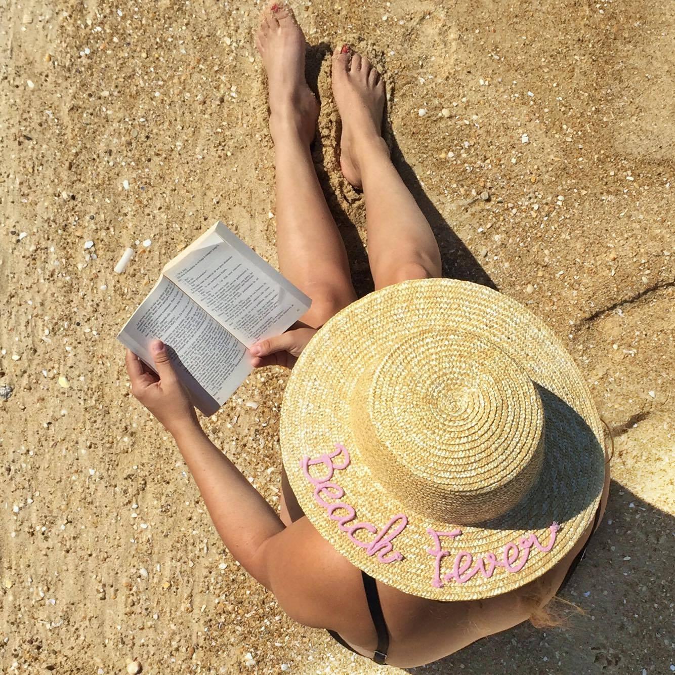 chapeau paille beach fever Pimkie - blog Camille In Bordeaux