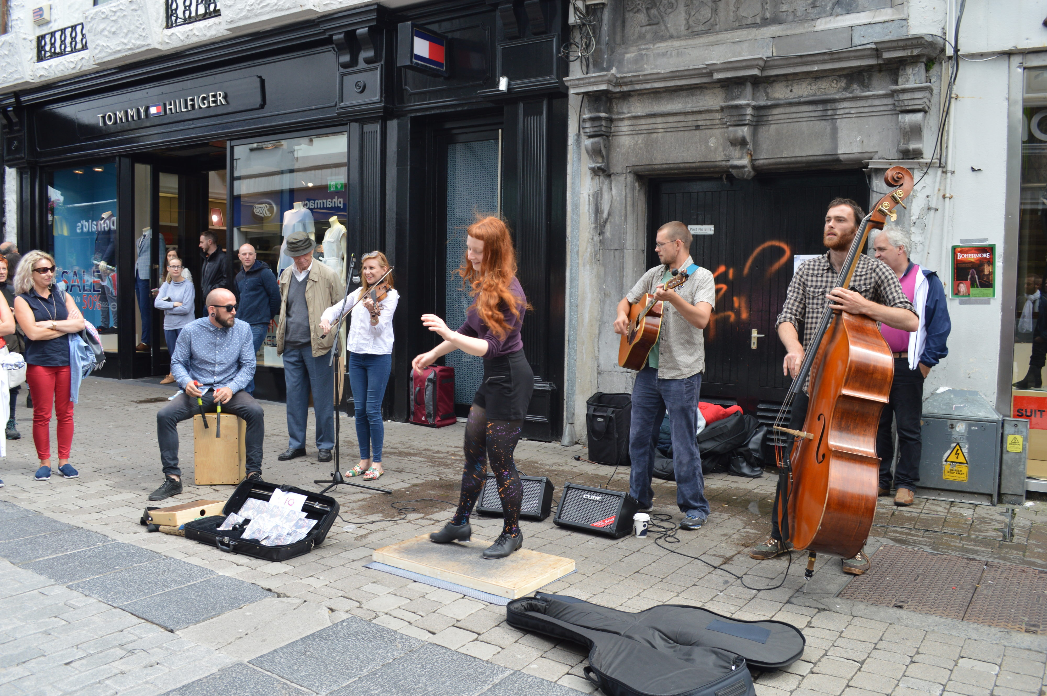 musique traditionnelle irlandaise Galway - blog Camille In Bordeaux