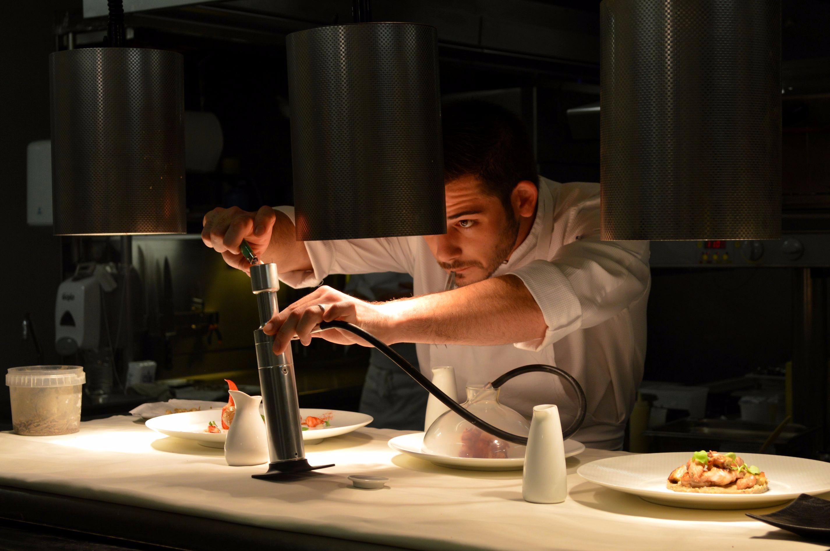 Romain Guyot chef restaurant gastronomique Le Gabriel Bordeaux - blog Camille In Bordeaux