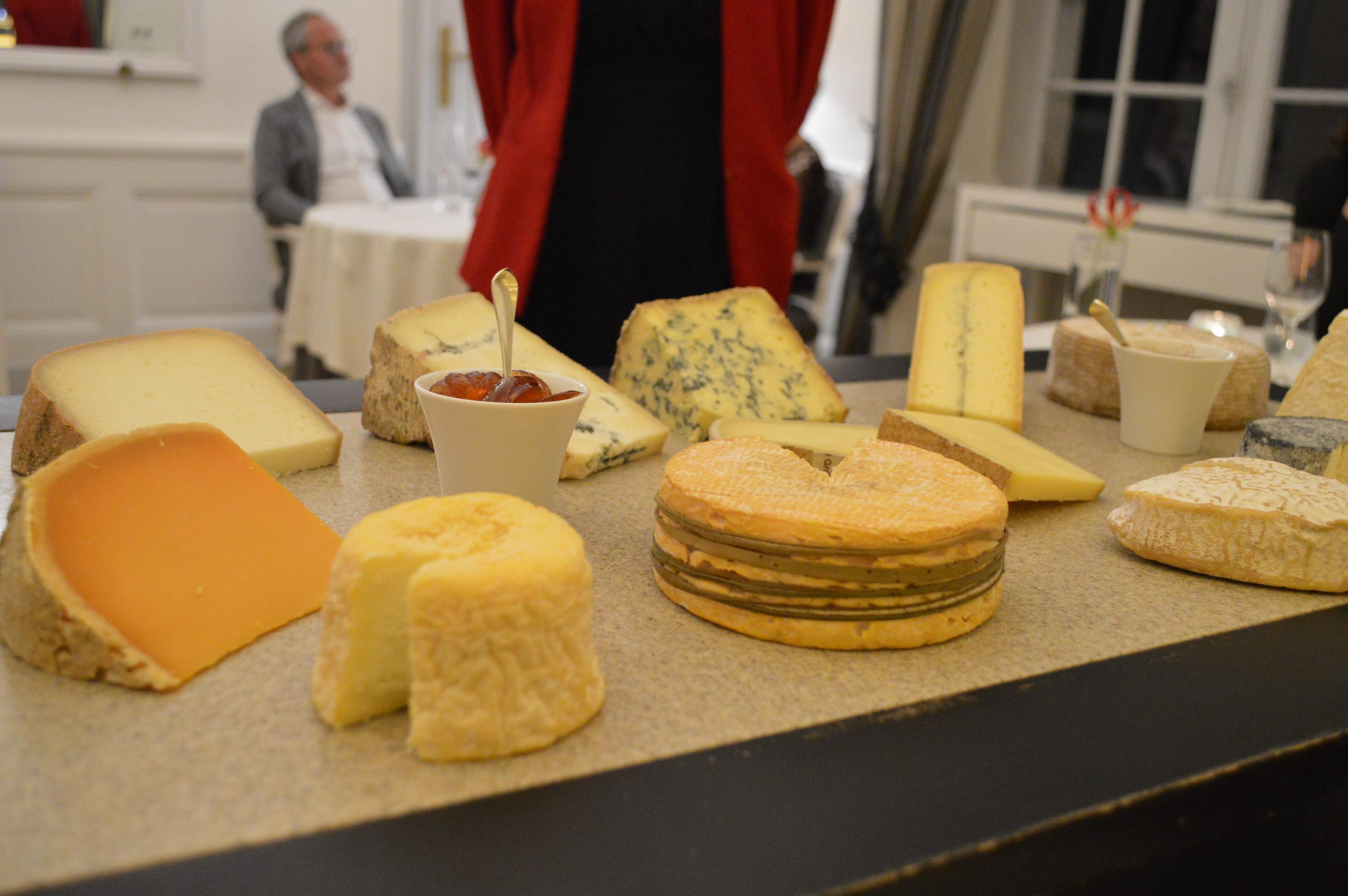 fromages Jean d'Alos au Gabriel - Camille In Bordeaux