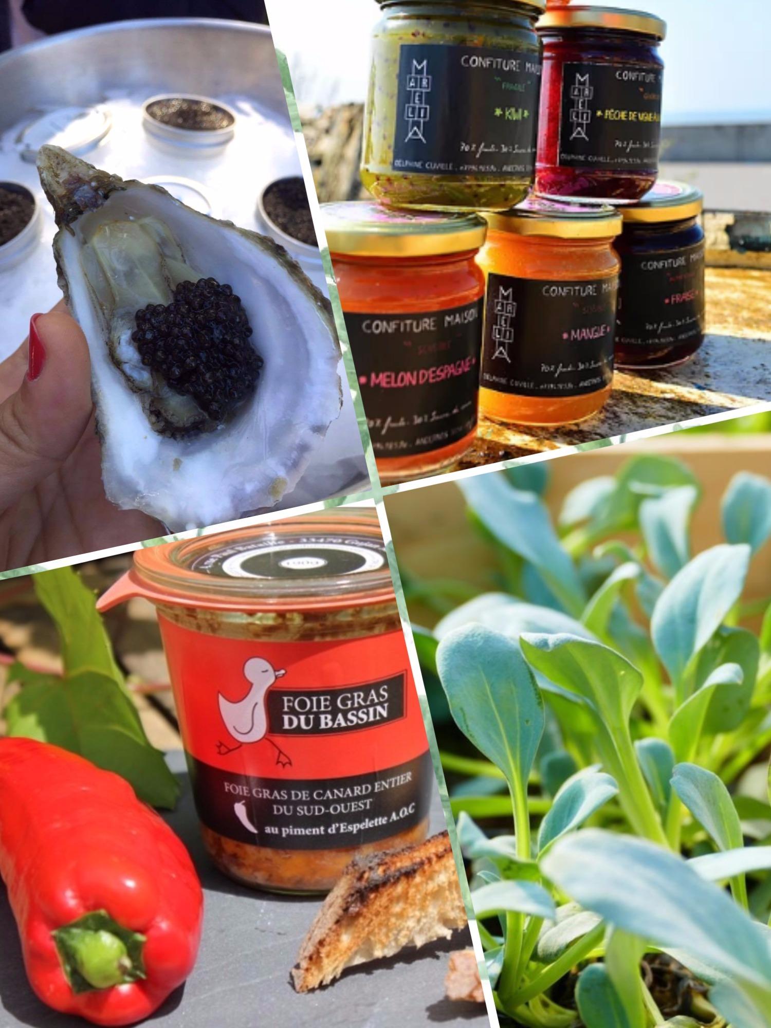 produits du bassin d'Arcachon - blog Camille In Bordeaux