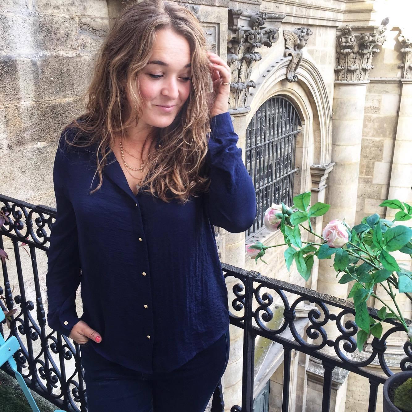 atelier de coloration Bordeaux cheveux ondulés - blog Camille In Bordeaux