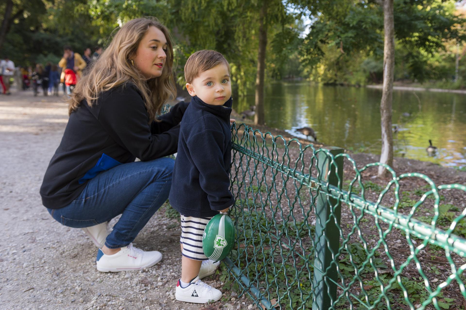 look sportswear enfant adulte Le Coq Sportif - blog Camille In Bordeaux