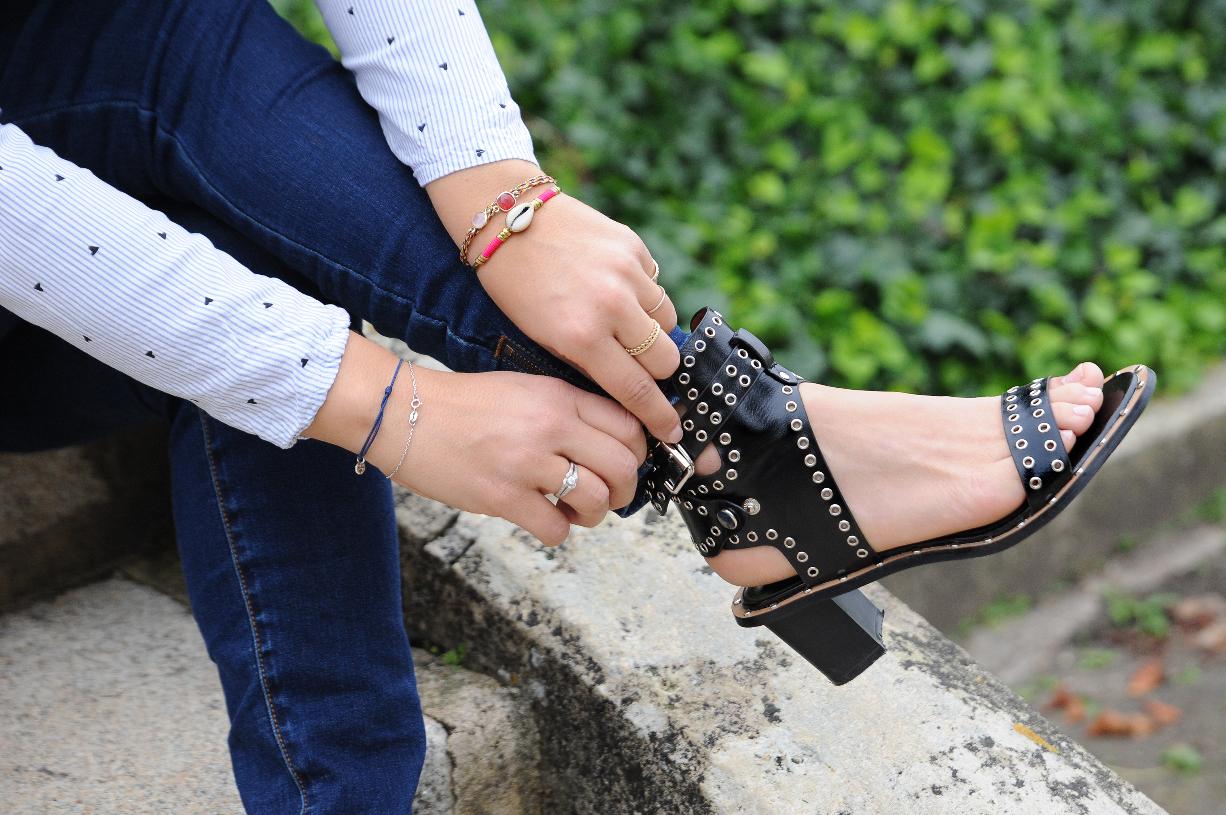 blog mode Bordeaux sac lollipops chaussures Hyloa - Camille In Bordeaux