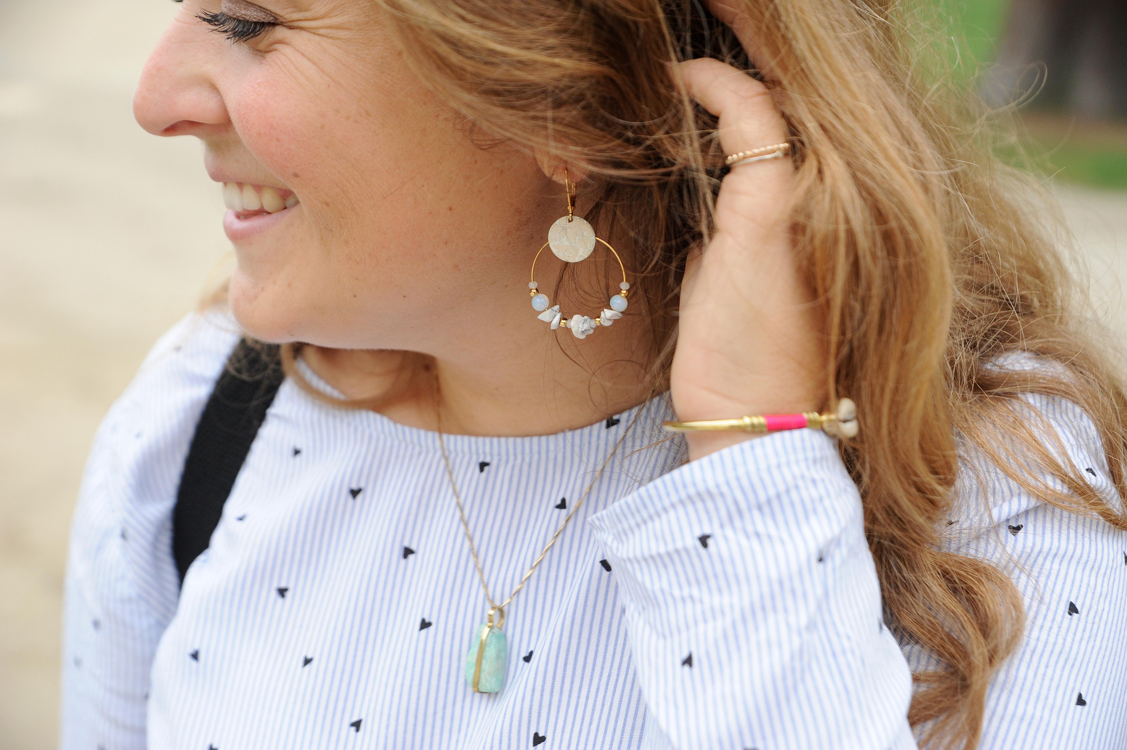 mode Bordeaux bijoux Candice Egloff Grid Cusco - blog Camille In Bordeaux