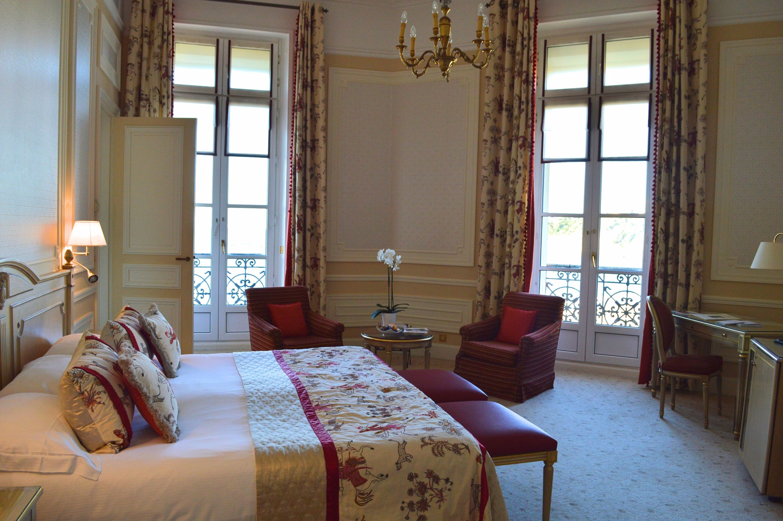 chambre Hotel du Palais Biarritz - blog Camille In Bordeaux