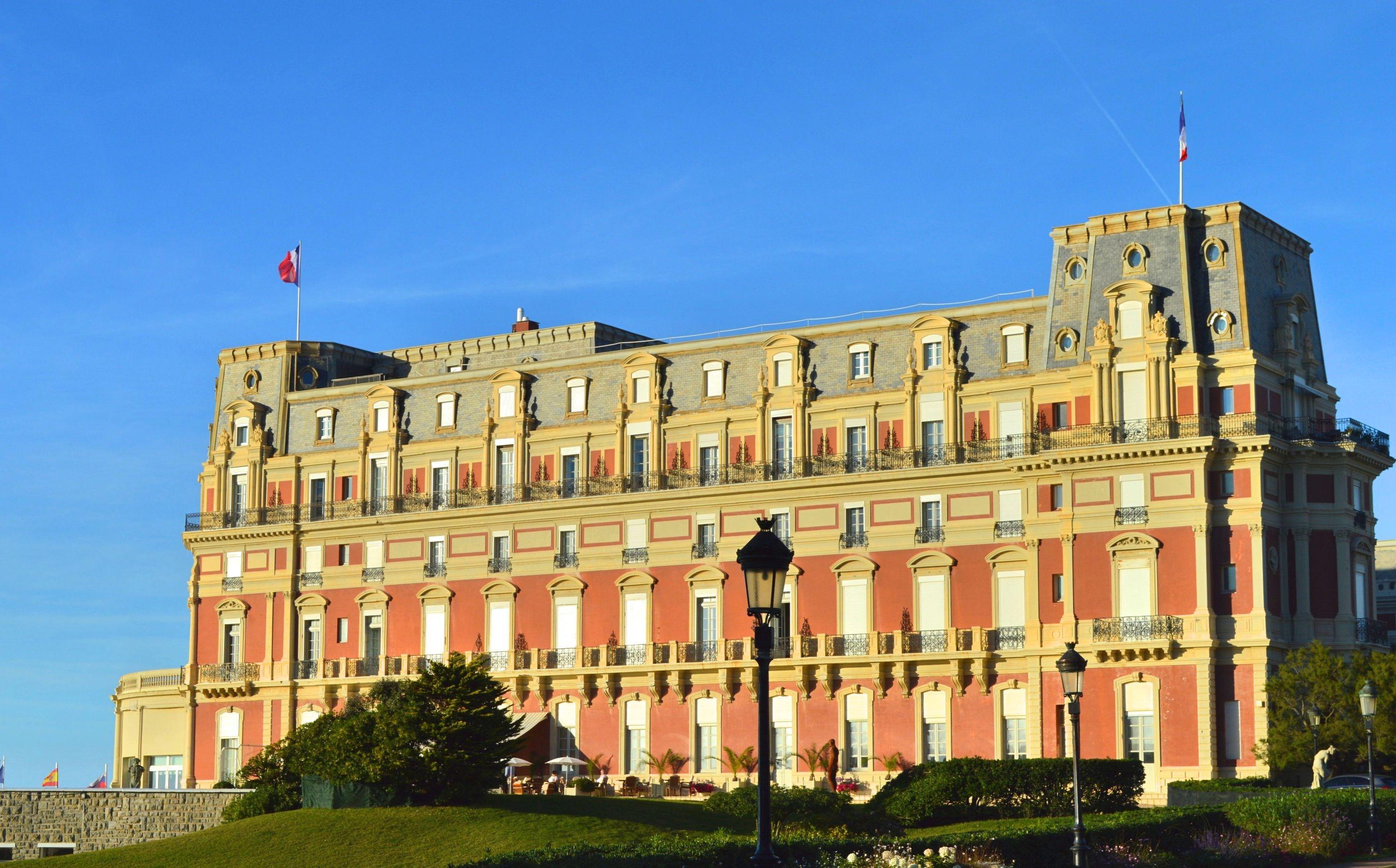 hôtel du Palais Biarritz - Blog Camille In Bordeaux