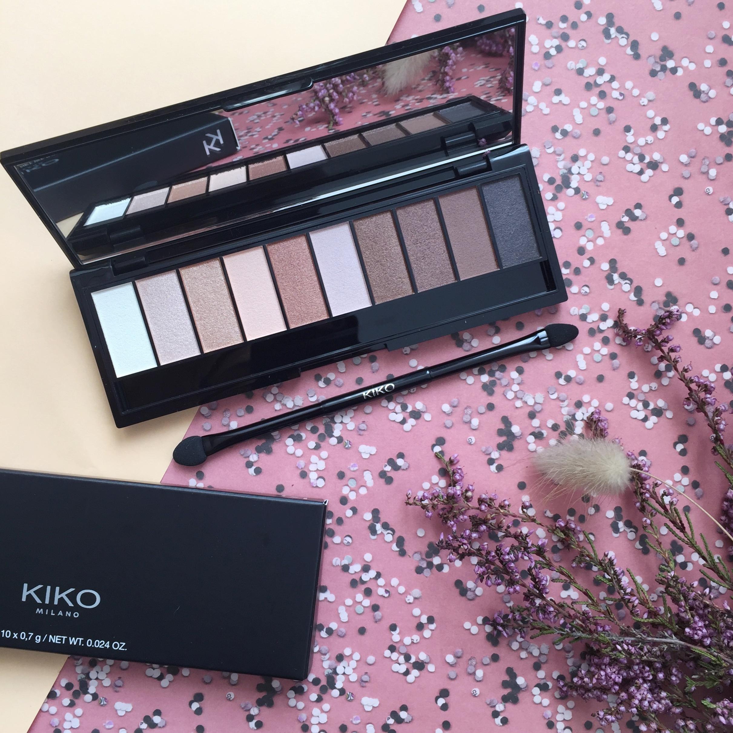 Kiko palette paupières sélection shopping beauté noel - blog Camille In Bordeaux