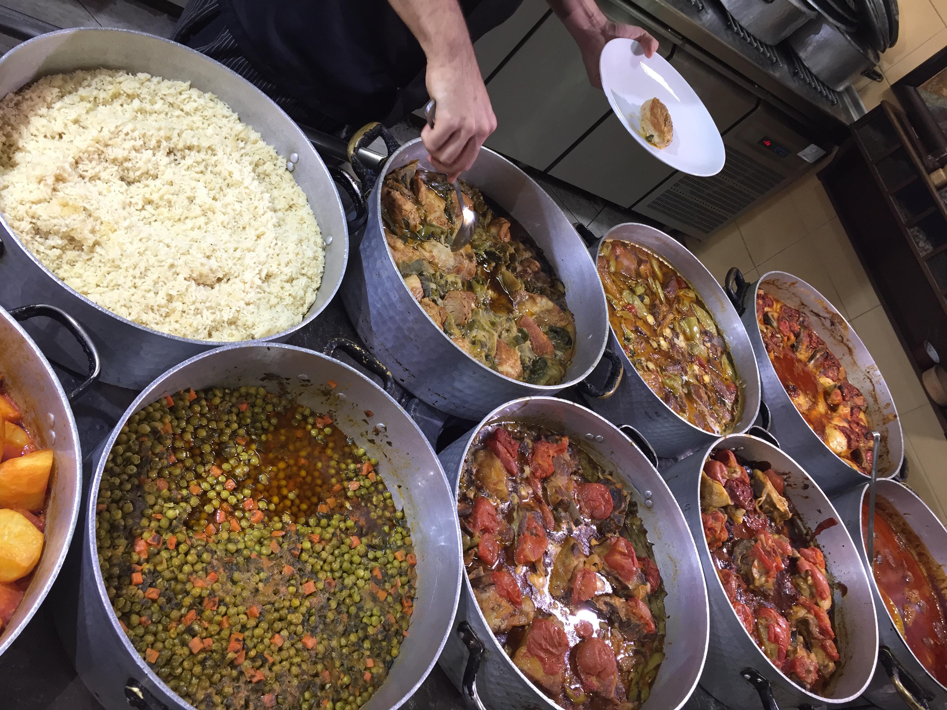 restaurant Météores Kalampaka - blog food voyage