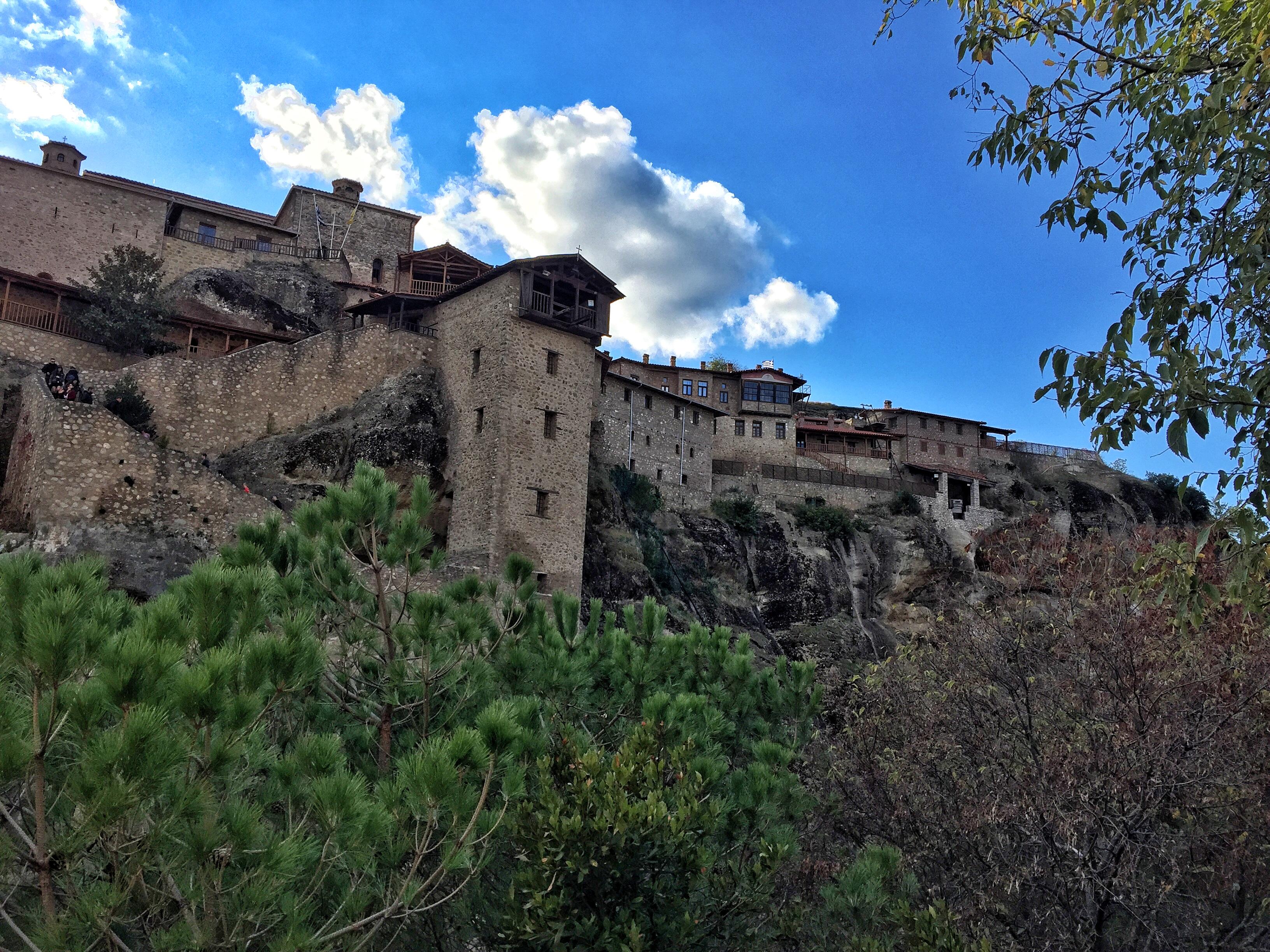 Monastère du Grand Météore en Grèce - blog voyages Grèce