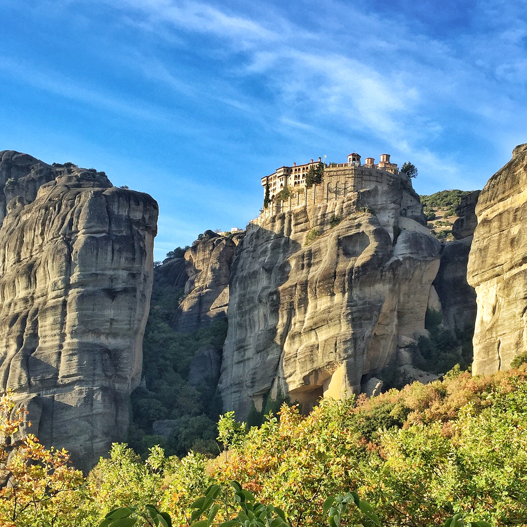 Météores Grèce monastères des Météores - blog voyage