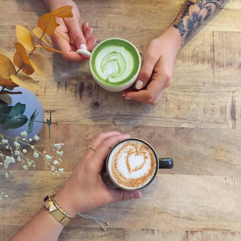 Horace café chaï latte matcha latte - blog Camille in Bordeaux