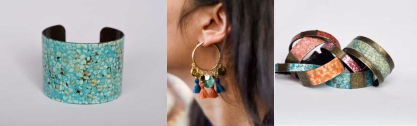 sélection cadeaux bijoux laque coquille oeufs Candice Egloff