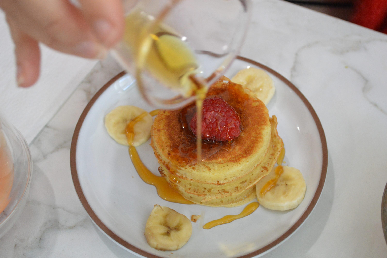 pancakes Contrast brunch Bordeaux -blog Camille In Bordeaux