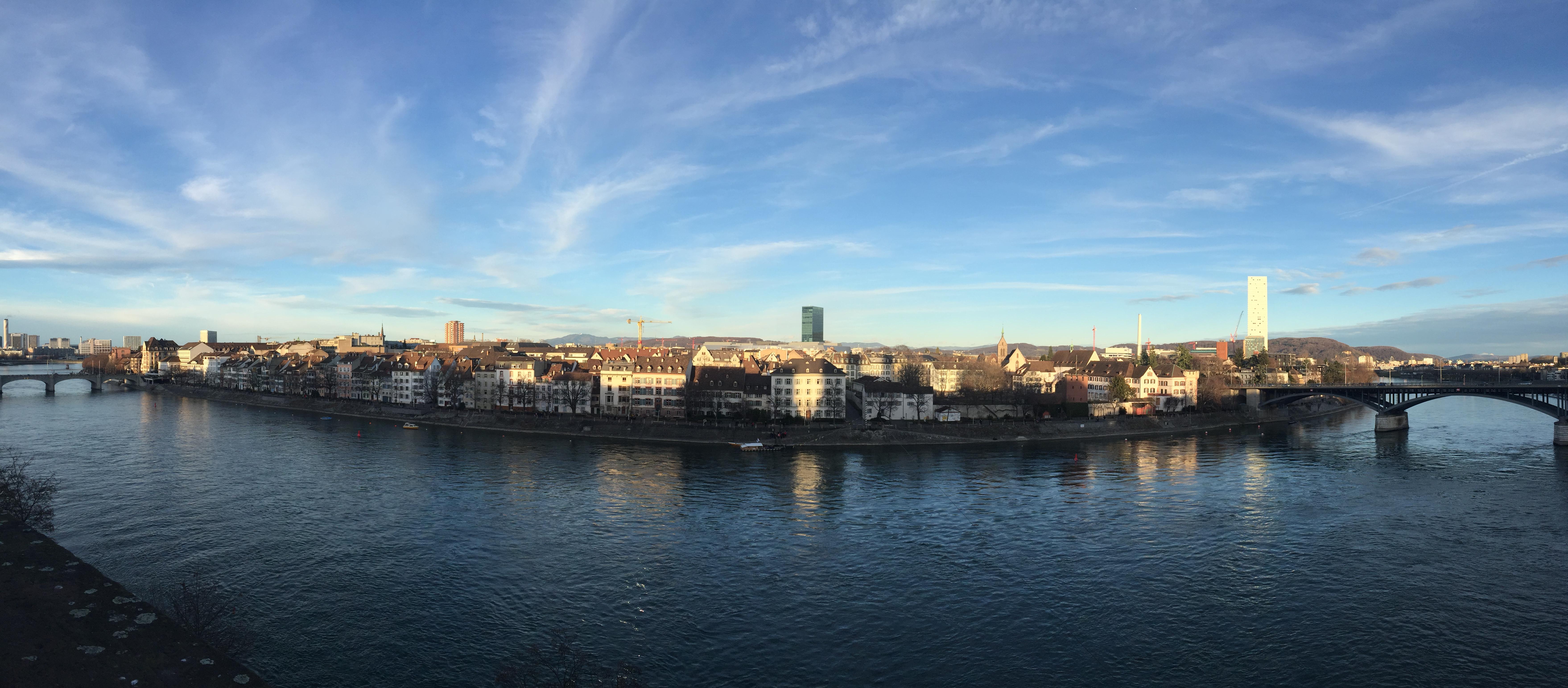panorama ville de Bâle en Suisse - blog voyage