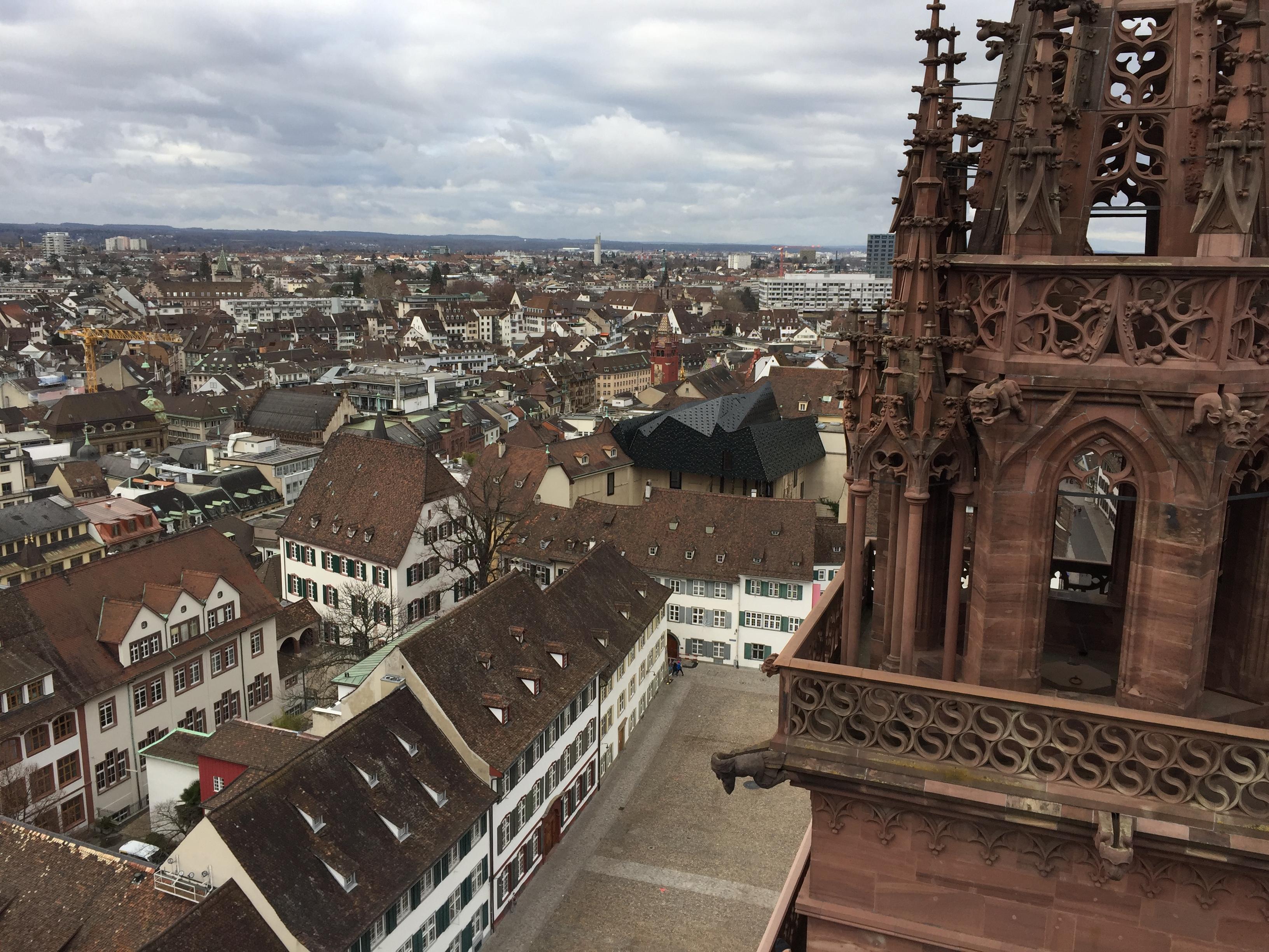 cathédrale notre dame de Bâle - blog voyage Suisse
