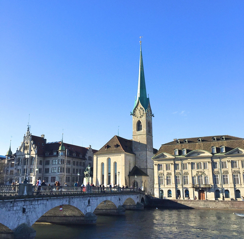 fraumunster Zurich vitraux Chagall - blog voyage Suisse