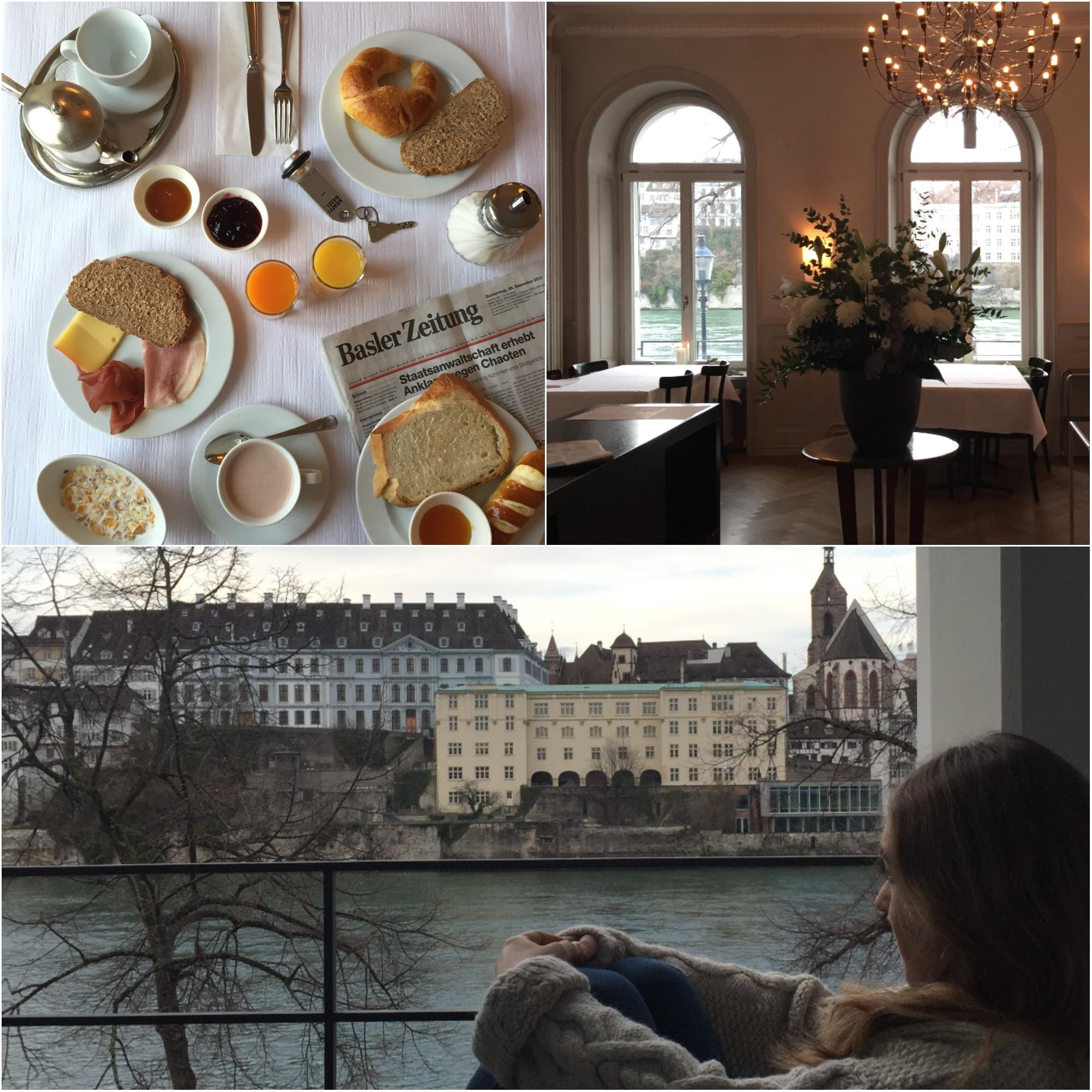 hotel Bâle avis hôtel krafft - blog voyage Suisse