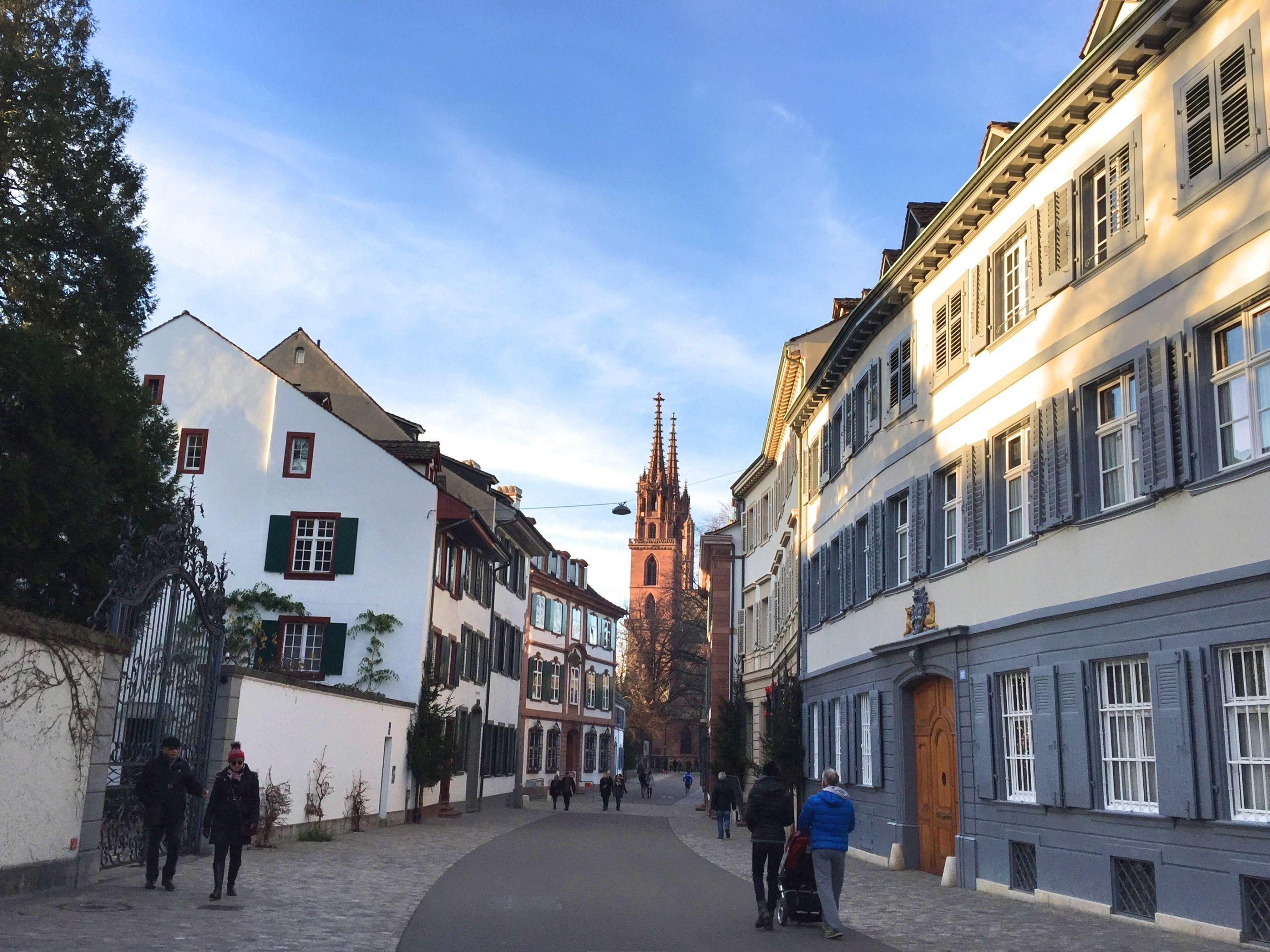 quartier Saint Alban Basel - blog voyage Suisse Bâle