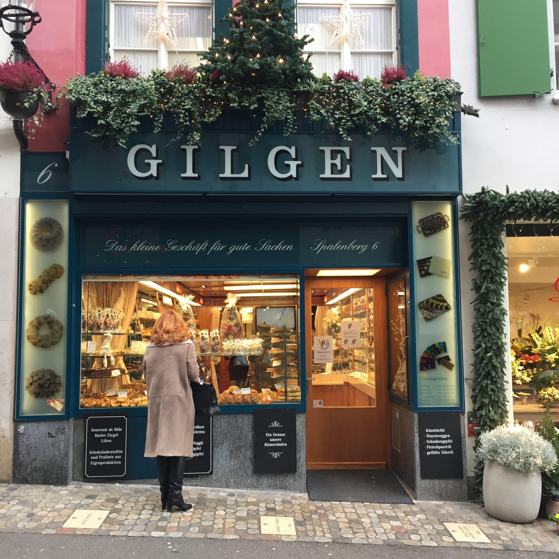Gilgen confiserie pâtisserie suisse à Bâle - blog Suisse