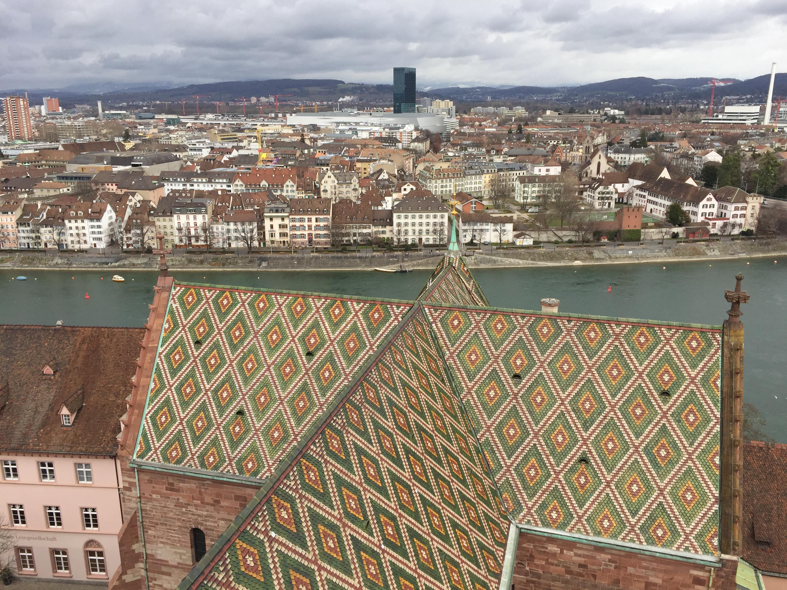 cathédrale notre dame de Bâle en Suisse