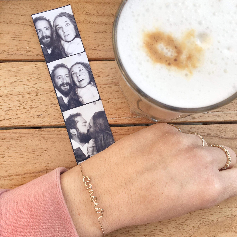 idées cadeaux Saint-Valentin bracelet personnalisé amour