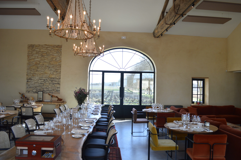 La Chapelle Château Guiraud restaurant grand cru classé
