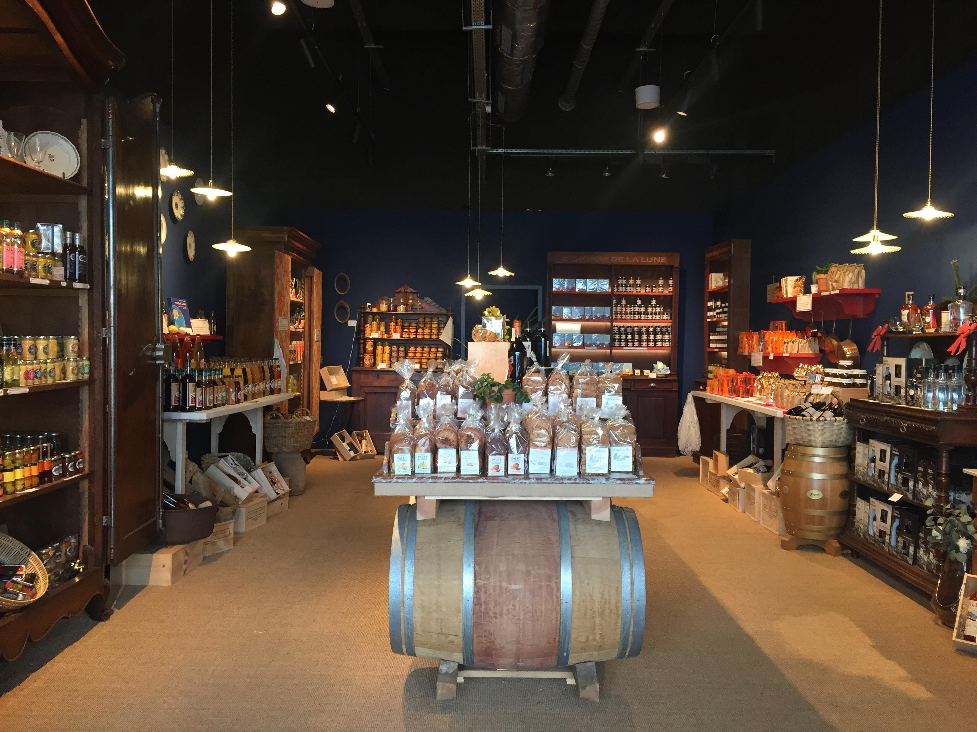 échoppe de la lune Bordeaux épicerie gourmande et historique