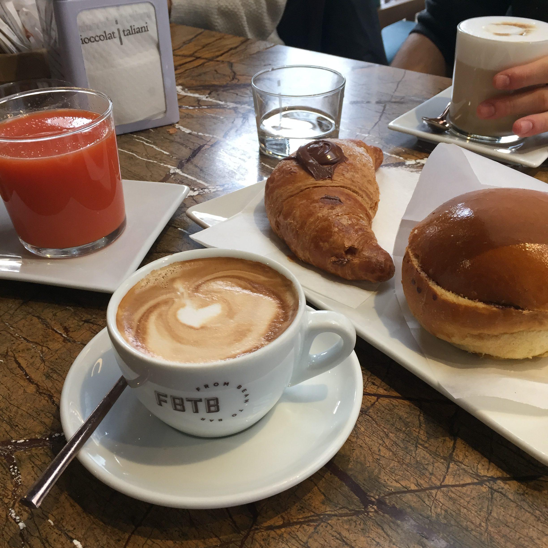 petit-déjeuner à Milan