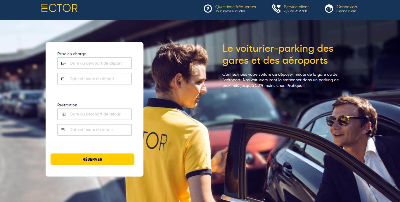 service voiturier parking Bordeaux