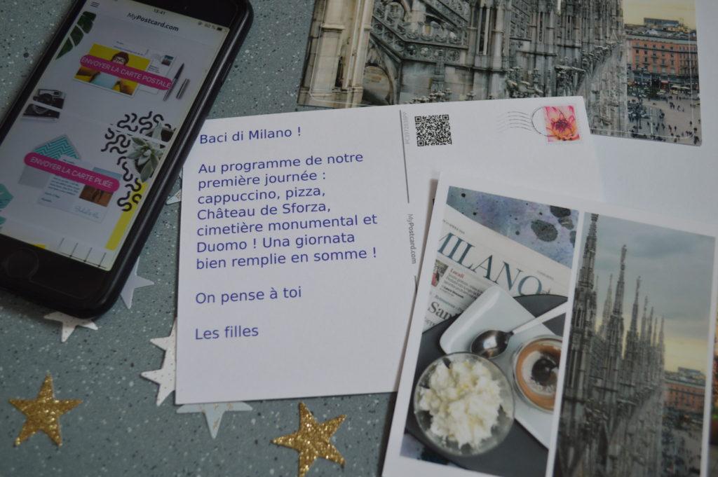 cartes postales personnalisées My Postcard