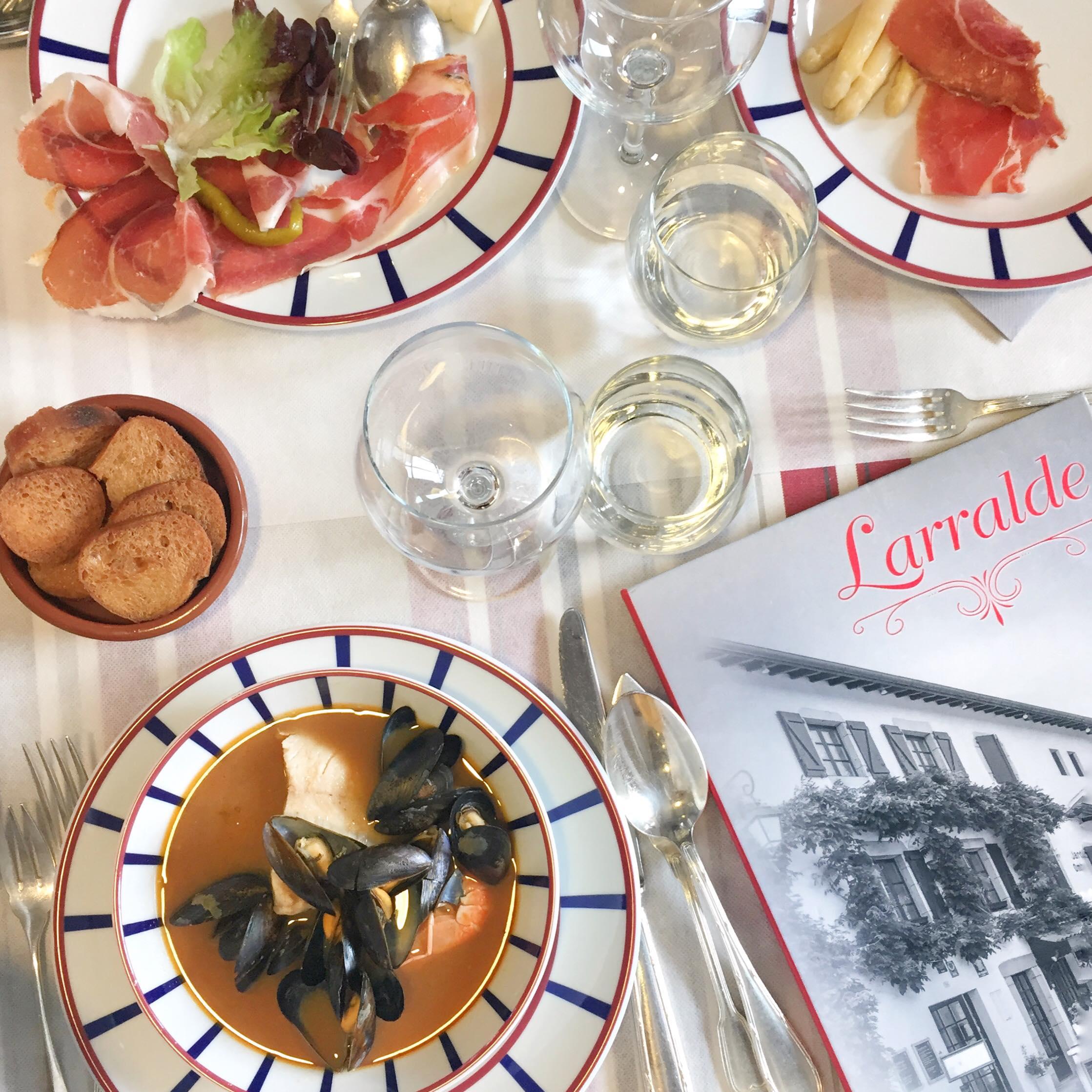 restaurant Ascain Larralde