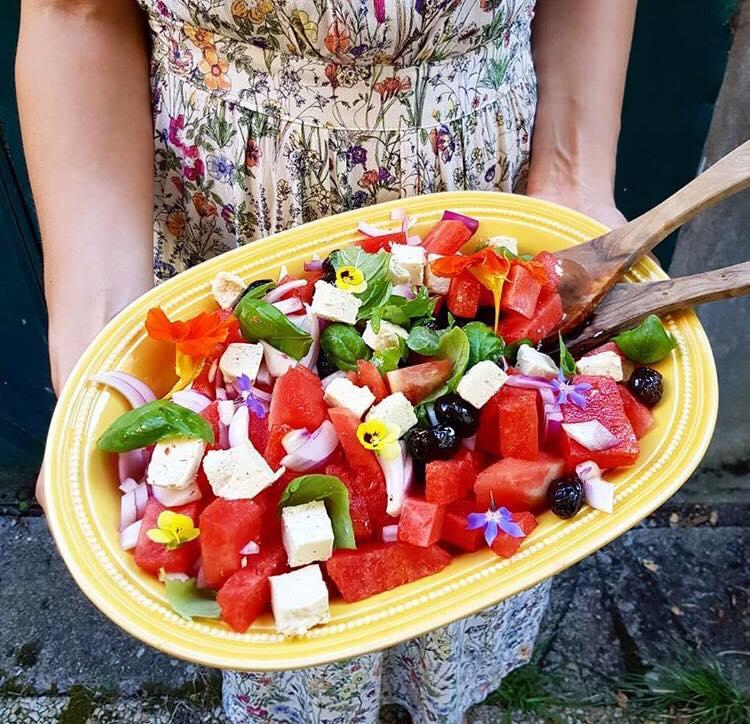 salade colorée recette C'est Si Bon