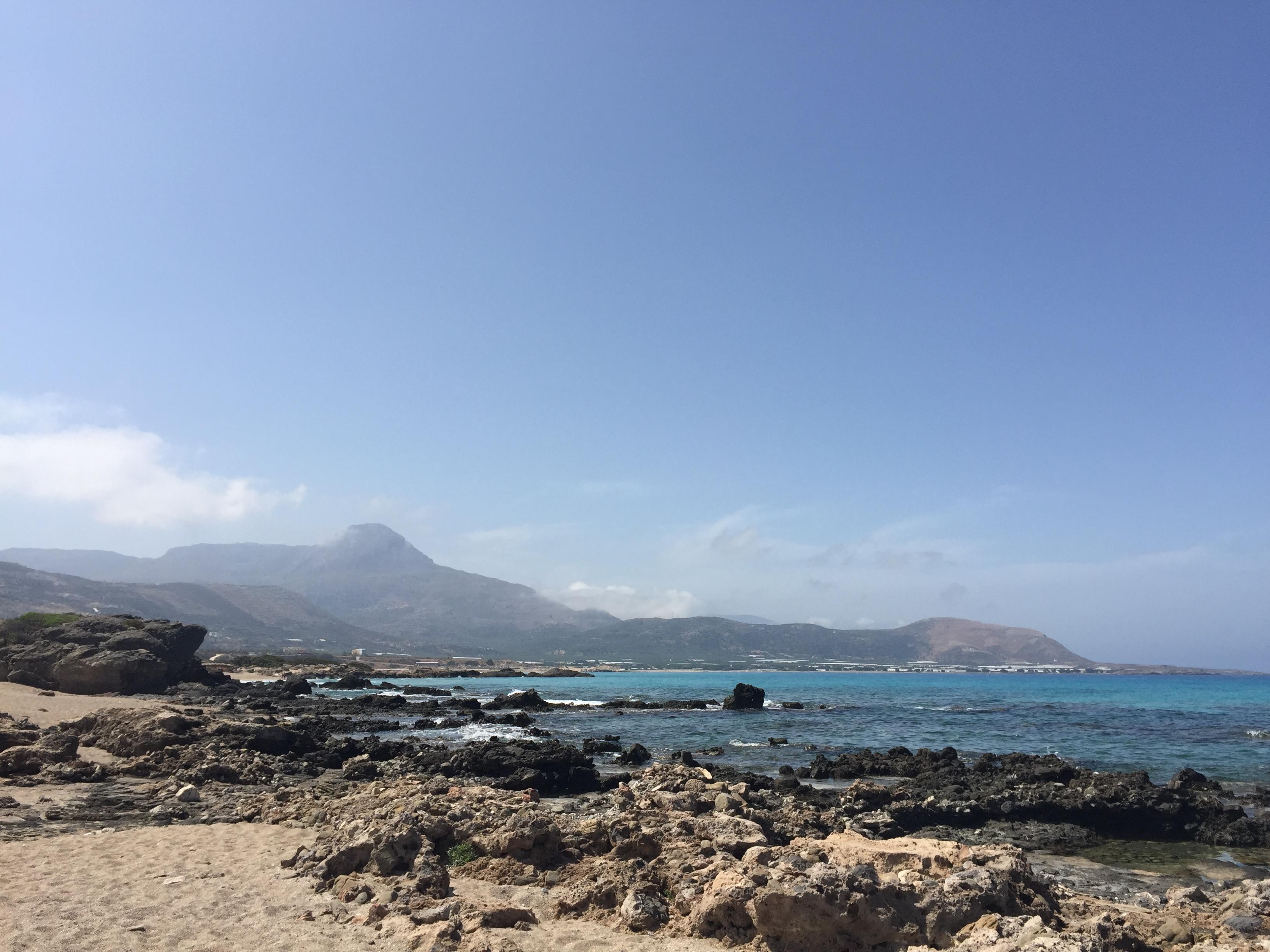 Falassarna plage Crète road trip en Crète