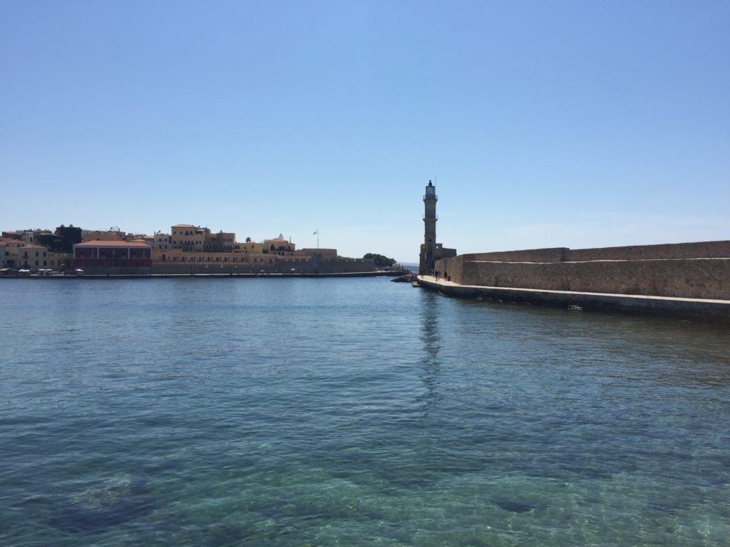 phare de La Canée port vénitien