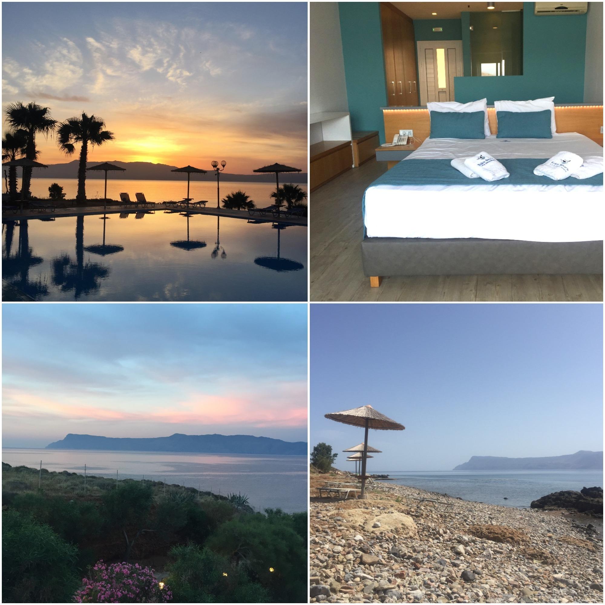 balos beach hôtel voyage en Crète