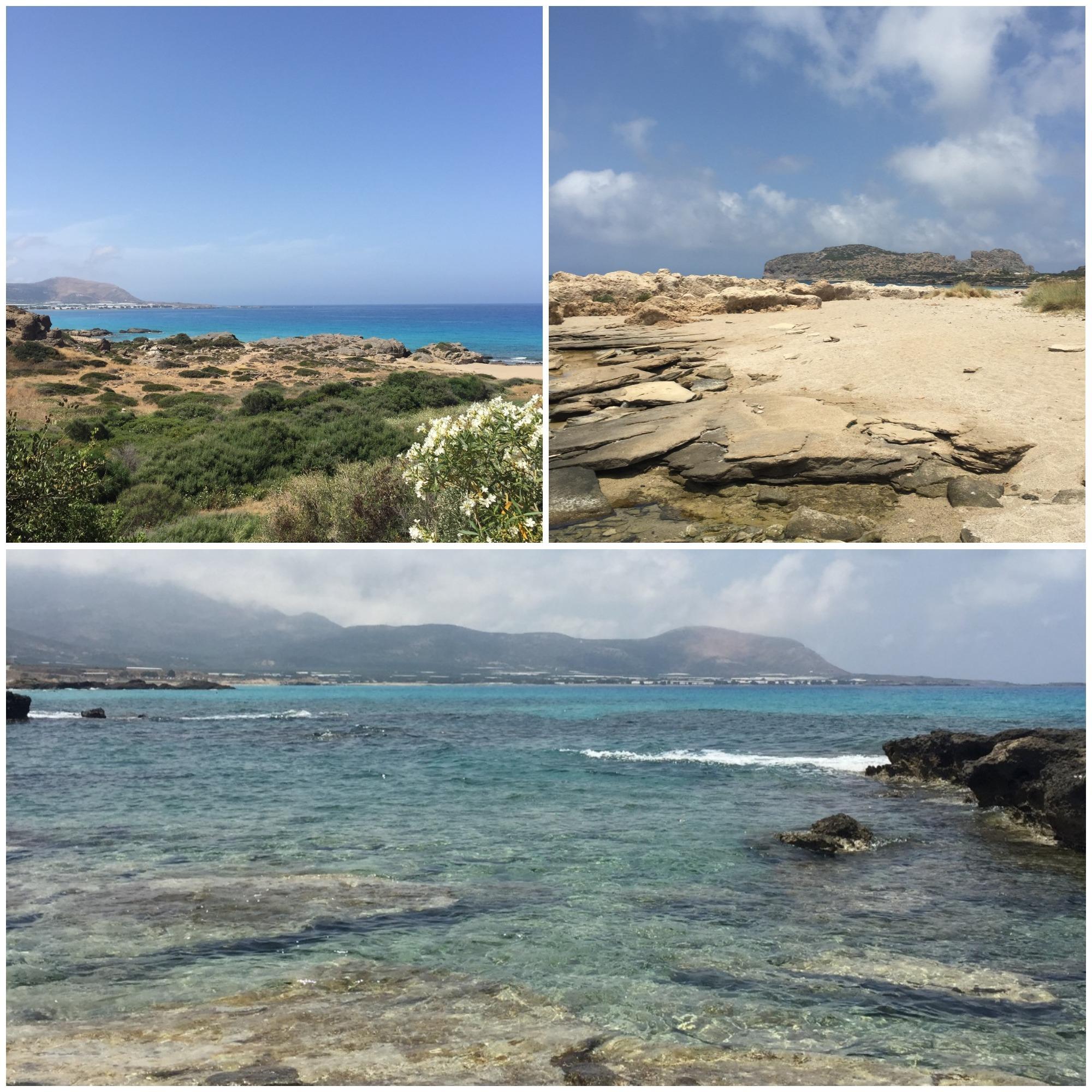 Falassarna plage voyage en Crète