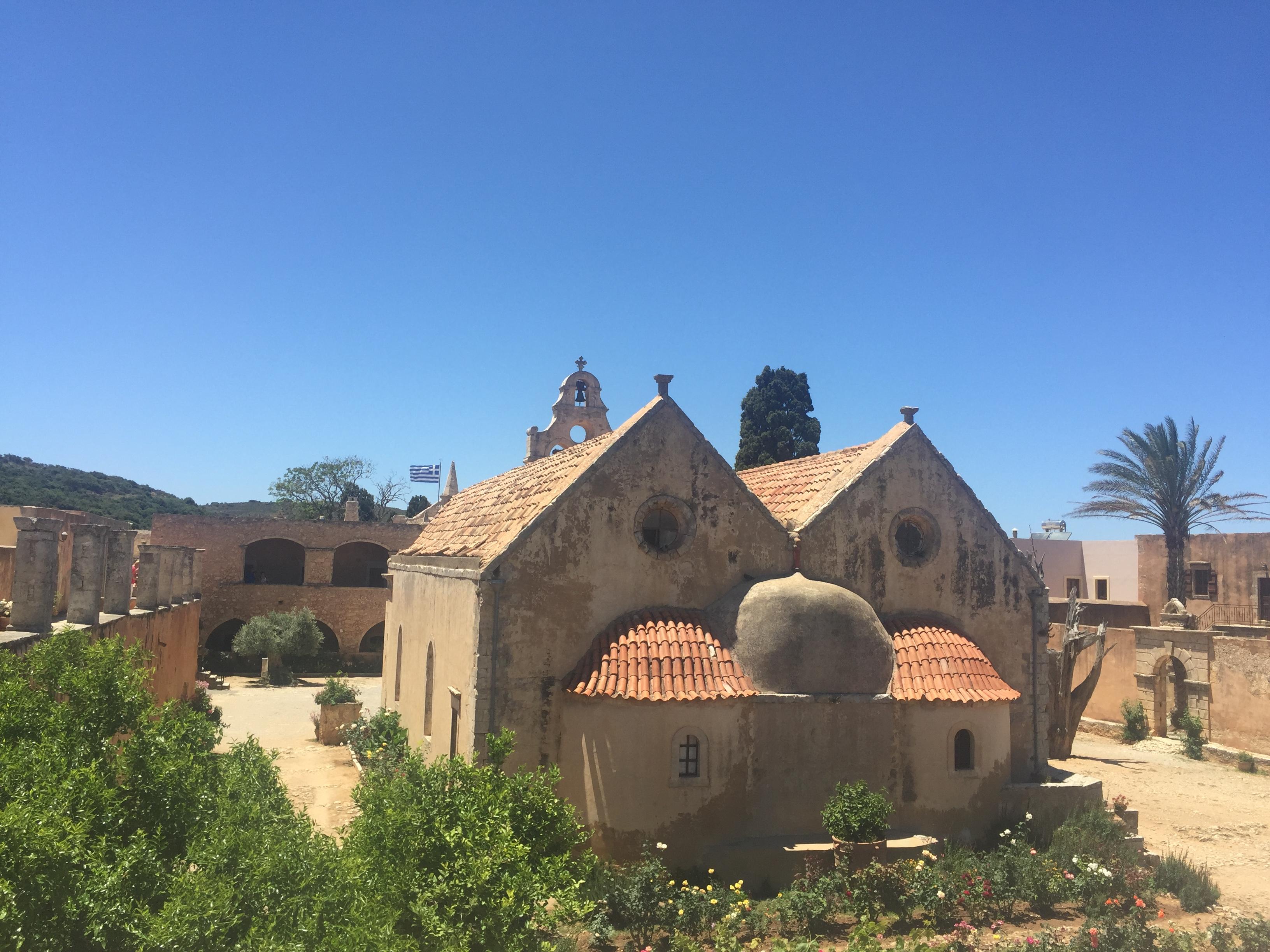 monastère d'Arkadi voyage en Crète