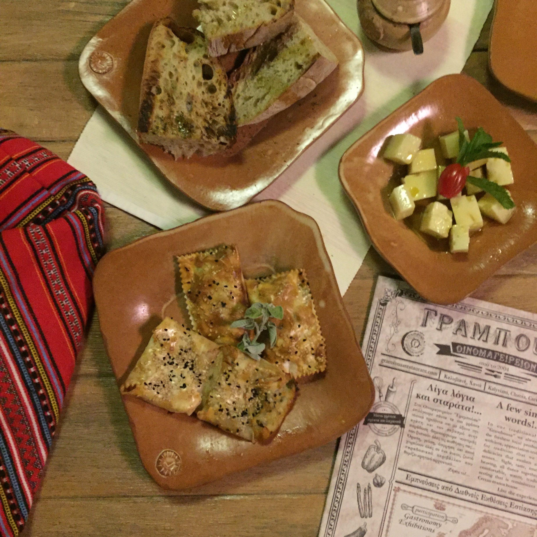 restaurant Gramvousa road trip en Crète