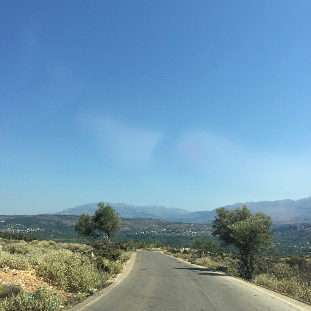 route en Crète