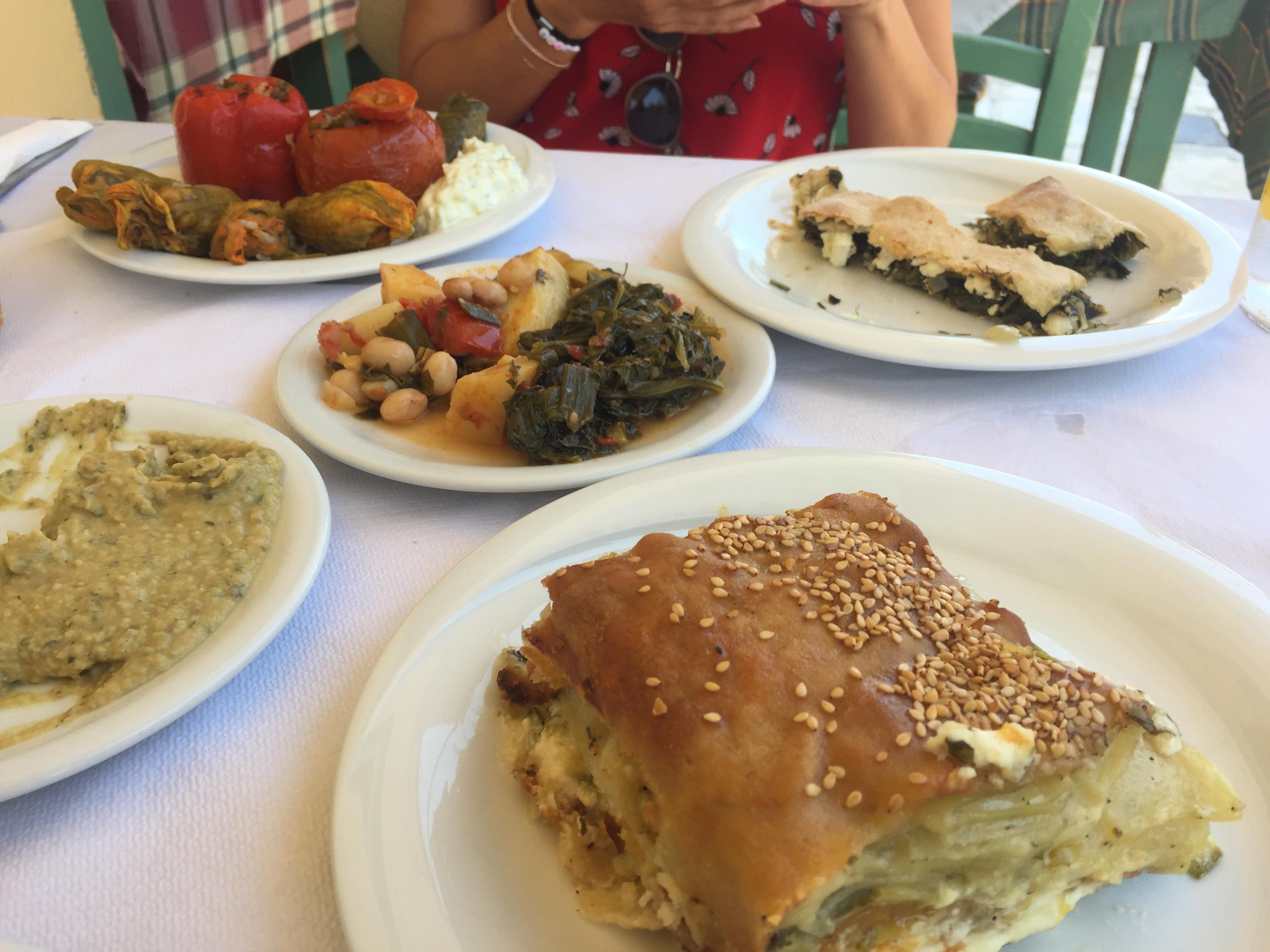 To stachi restaurant végétarien La Canée voyage en Crète
