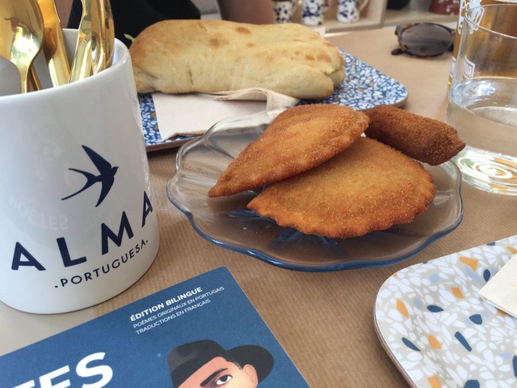 Alma Portuguesa restaurant Bordeaux