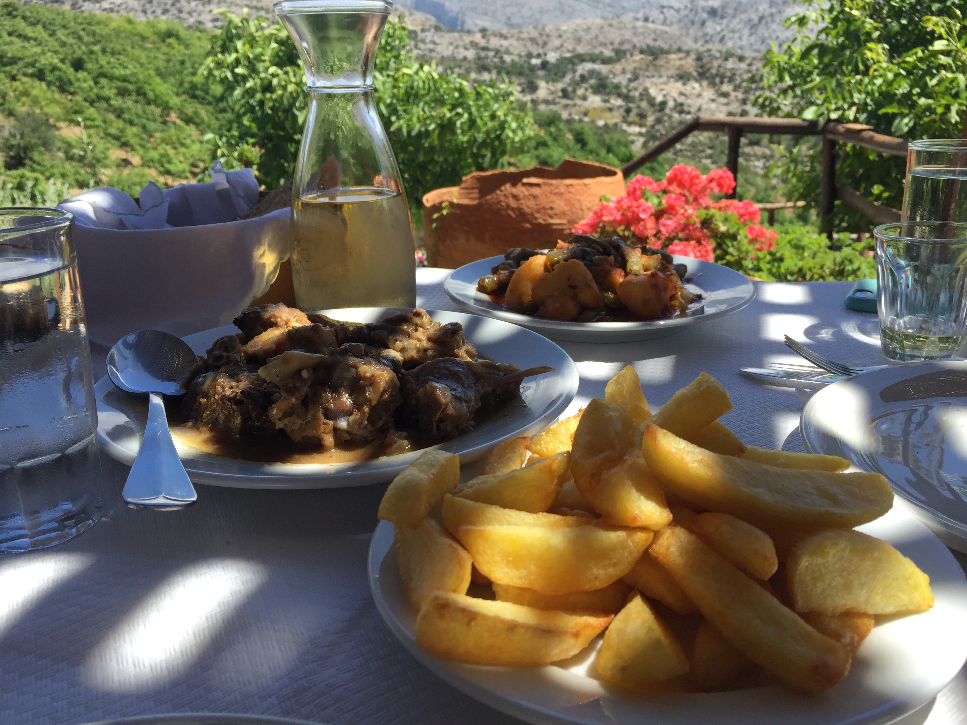 gastronomie crétoise Arodamos