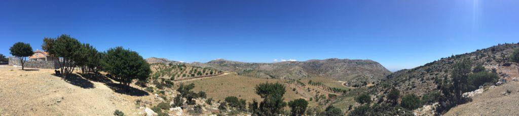 Arodamos guesthouse montagnes Crète