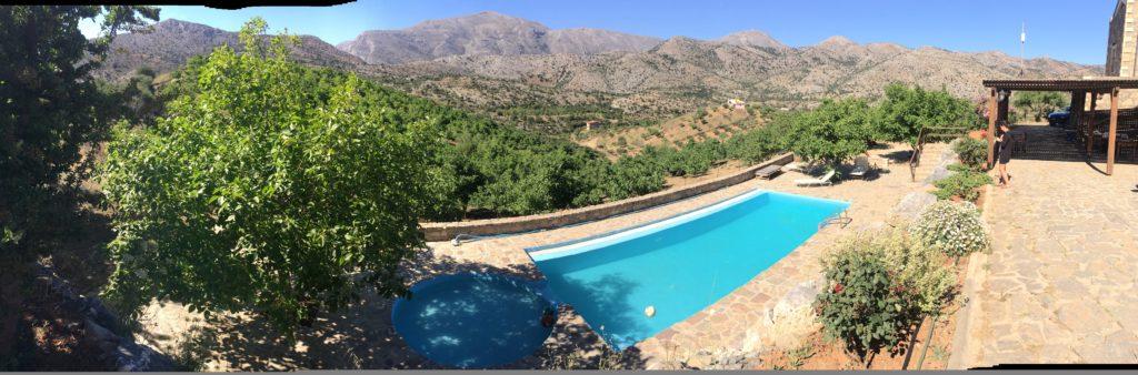 Arodamos maison d'hôtes avec piscine Crète