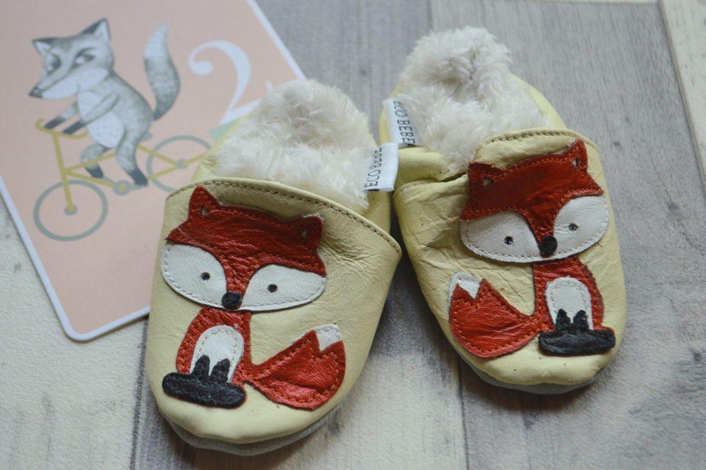 chaussons cuir souple bébé Eco bébé