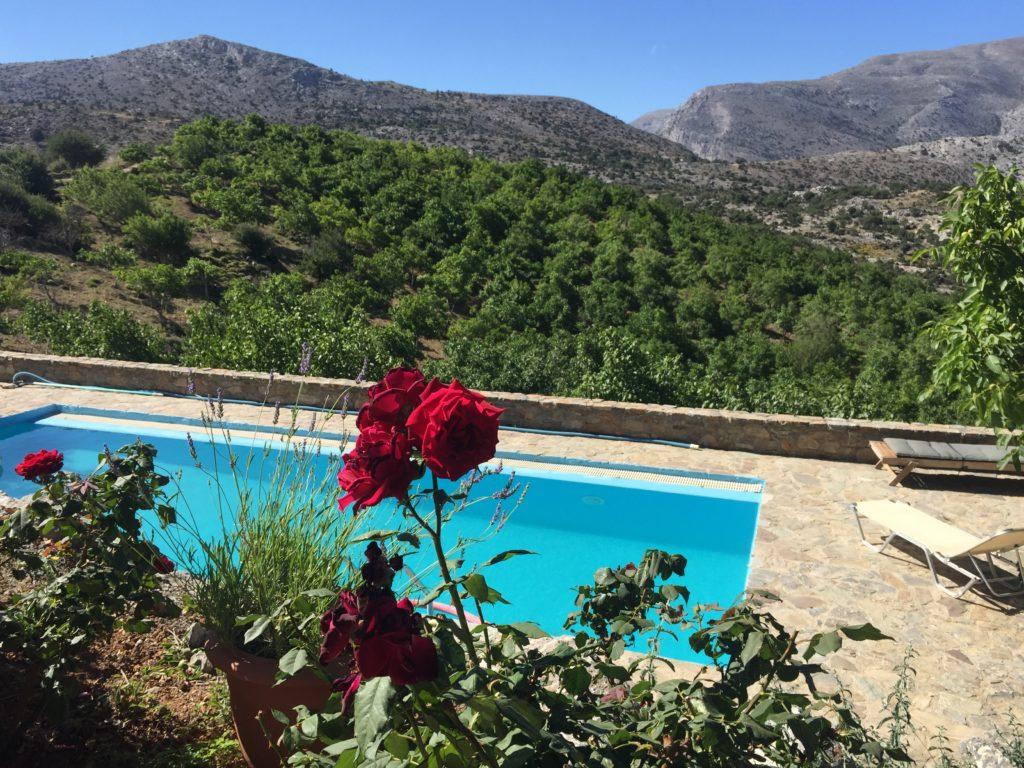 voyage en Crète montagnes Arodamos guesthouse