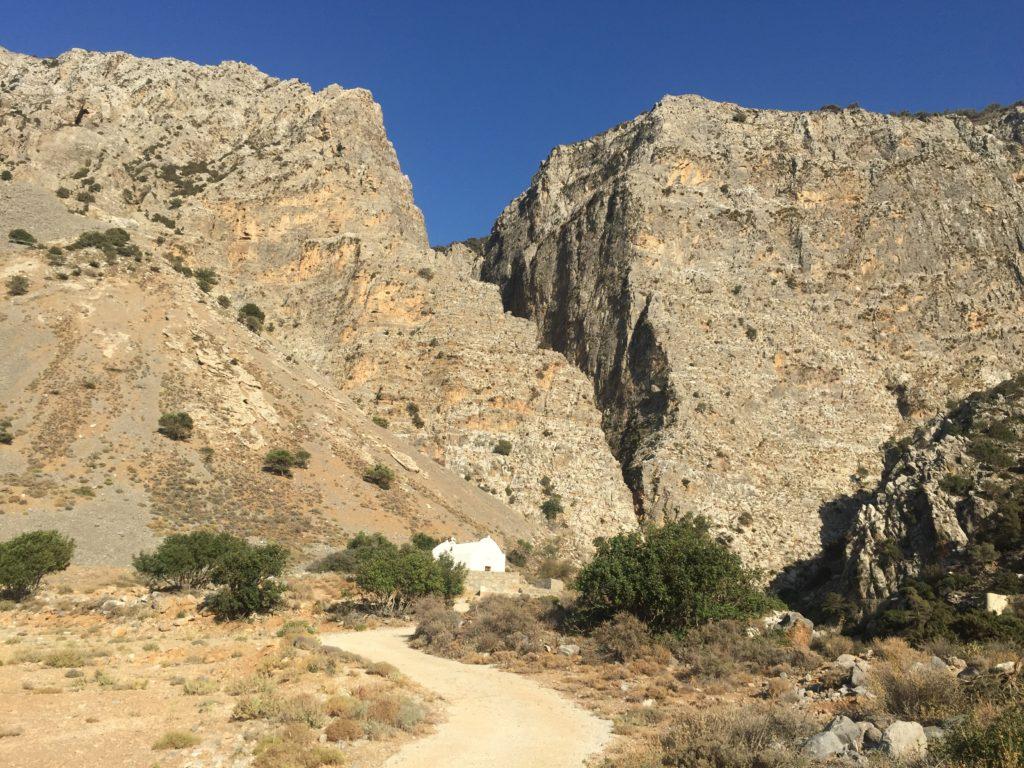 chapelle gorges de Ha voyage en Crète