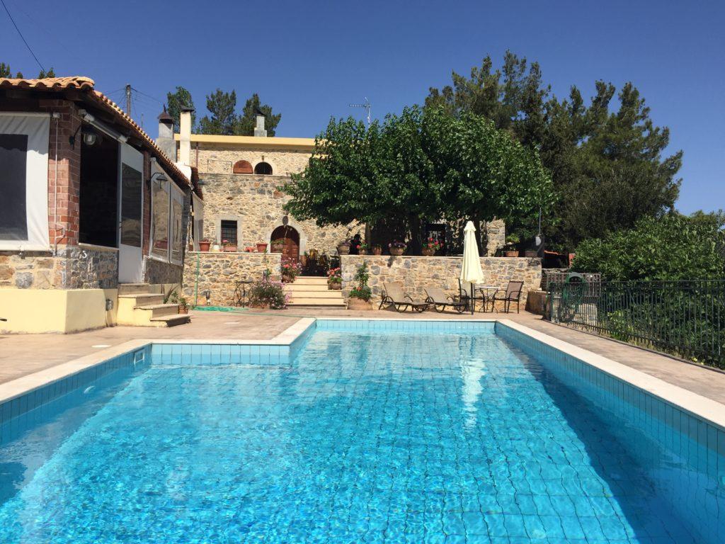 Metohi house voyage Crète plateau lassithi