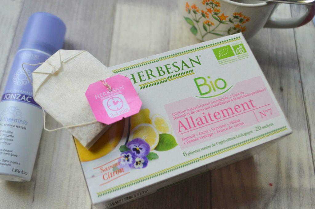 tisane allaitement bio Herbesan eau thermale Jonzac